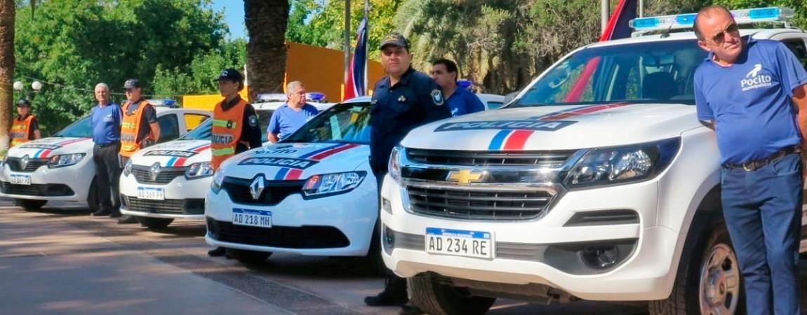 Nuevas movilidades para la Policía Comunal
