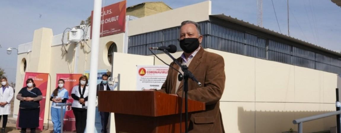 Carpintería: Inauguran ampliación del Centro de Salud y Delegación Municipal
