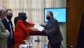 El intendente Sánchez recibió en Casa de Gobierno el Plan de Gestión Ambiental Provincial