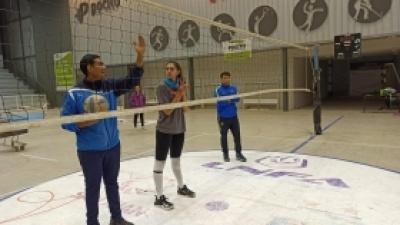 Deportistas de alto rendimiento y desarrollo, a puro entrenamiento en Pocito